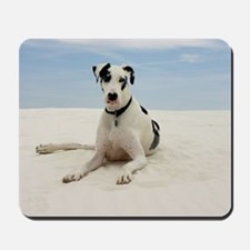 GREAT DANE BEACH Mousepad