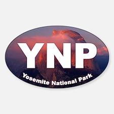 Yosemite Logo Sticker (Oval)