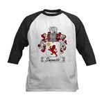 Simonetti Coat of Arms Kids Baseball Jersey