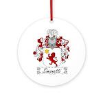 Simonetti Coat of Arms Ornament (Round)