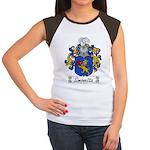 Simonetta Family Crest Women's Cap Sleeve T-Shirt