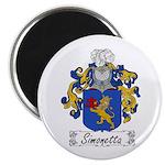 Simonetta Family Crest Magnet
