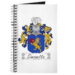 Simonetta Family Crest Journal