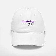Birthday Girl - purple Baseball Baseball Cap