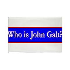 John Galt Rectangle Magnet (100 pack)