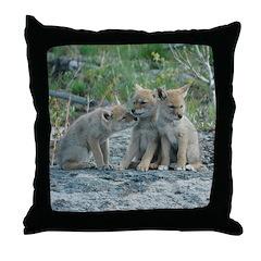 The Amigos Throw Pillow