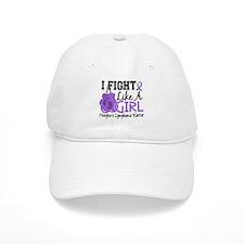 Fight Like A Girl Hodgkin's Lymphoma Baseball Cap