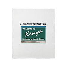 Unique Obama birther Throw Blanket