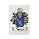 Simeone Family Crest Rectangle Magnet (10 pack)