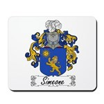 Simeone Family Crest Mousepad