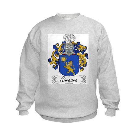 Simeone Family Crest Kids Sweatshirt