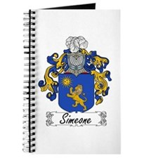 Simeone Family Crest Journal