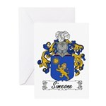 Simeone Family Crest Greeting Cards (Pk of 10)