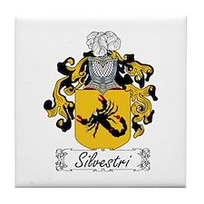Silvestri Coat of Arms Tile Coaster