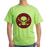 Vintage Evil 007C Green T-Shirt