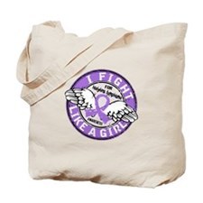 Fight Like A Girl Hodgkin's Lymphoma Tote Bag