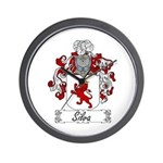 Silva Family Crest Wall Clock