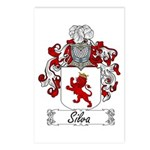 Silva Family Crest Postcards (Package of 8)