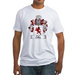 Silva Family Crest Fitted T-Shirt