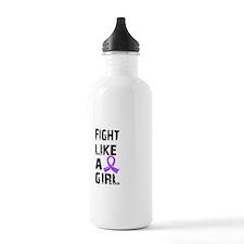 Fight Like A Girl Hodgkin's Lymphoma Water Bottle
