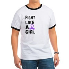 Fight Like A Girl Hodgkin's Lymphoma T