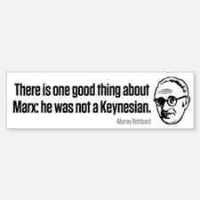 Rothbard on Marx Bumper Bumper Sticker