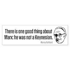 Rothbard on Marx Bumper Sticker