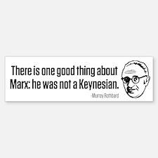 Rothbard on Marx Sticker (Bumper)
