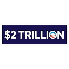 Obama Parody Sticker (Bumper 50 pk)
