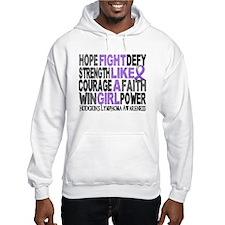 Fight Like A Girl Hodgkin's Lymphoma Hoodie