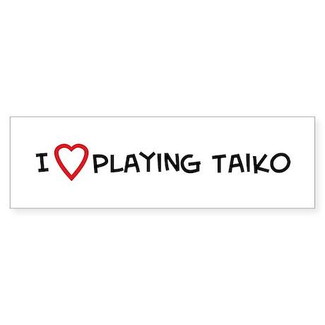 Play Taiko Bumper Sticker
