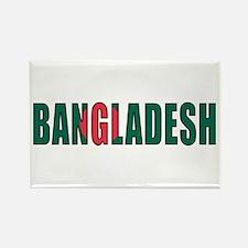 Bangladesh Rectangle Magnet
