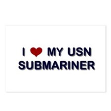 Love my Submariner Postcards (Package of 8)