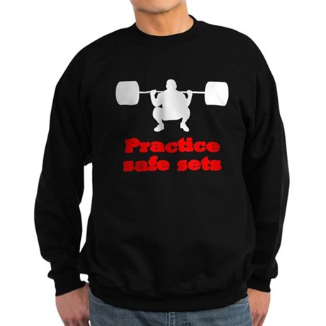 Practice Safe Sets Sweatshirt (dark)