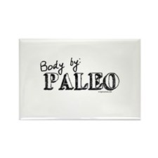Body by paleo Rectangle Magnet
