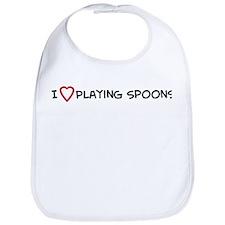 Play Spoons Bib