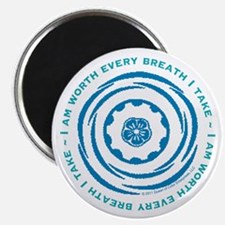"""Worth Every Breath 2.25"""" Magnet (100 pack)"""