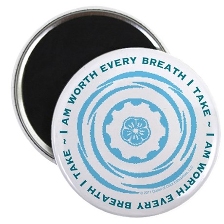 """Worth Every Breath 2.25"""" Magnet (10 pack)"""