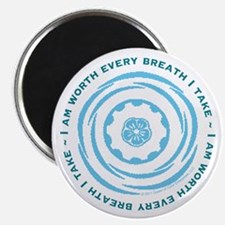 "Worth Every Breath 2.25"" Magnet (10 pack)"