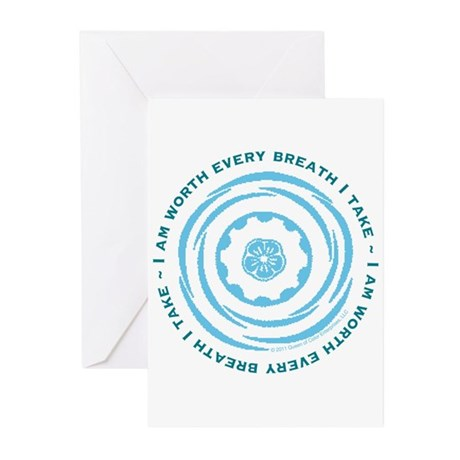 Worth Every Breath Greeting Cards (Pk of 10)