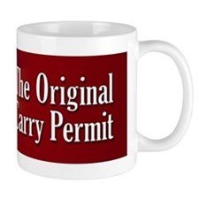 The Original Carry Permit, 2nd Amendment Mug