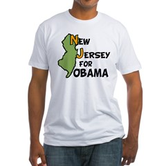 New Jersey for Obama 2012 Shirt