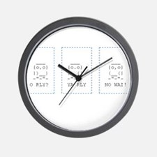 Cool Ascii Wall Clock