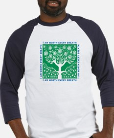 Tree of Love Green Baseball Jersey