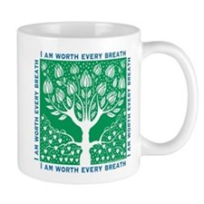 Tree of Love Green Mug
