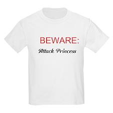 BEWARE: Attack Princess T-Shirt