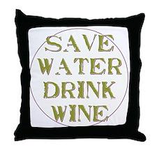 Save Water... Throw Pillow