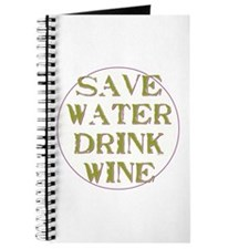 Save Water... Journal