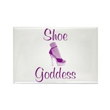 Shoe Goddess Rectangle Magnet