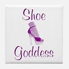Shoe Goddess Tile Coaster